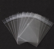 50PCS 90cm Clear Resealable Cello/Cellophane Bags With Self Seal lip Good for Bakery Candle Soap Cookie