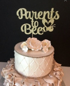 Parents to Bee Cake Topper