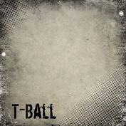 T-Ball Antique 30cm x 30cm Scrapbook Paper - 1 Sheet