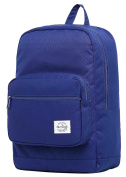 ALVIMAX Plain School Backpack Book Bag | Navy