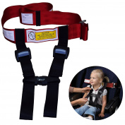 Child Safety Harness Aeroplane Travel Clip Strap.The Travel Harness Safety System Will Protect Your Child from Dangerous.Had Passed FAA Approved.