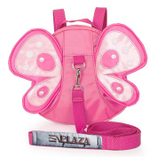 EPLAZA Toddler Walking Safety Butterfly Belt Backpack with Leash Child Kid Harness Strap Bag