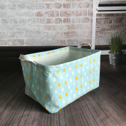 Storage Bin Toy Basket Collapsible Box Chest Organiser Water-resistant, Great for edroom, Closet, Kid's Toys, & Laundry, Gift Baskets