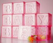 Baby Shower Party Favours - Baby Blocks Souvenirs for Guests to Remember Your Baby Shower