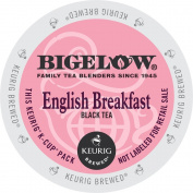 Bigelow, English Breakfast Tea, Single Serve Tea K-Cups, 48-Count For Brewers