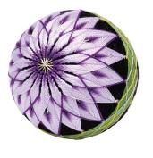 Orimupasu made ãN Temari Kit TM-7 classic chrysanthemum