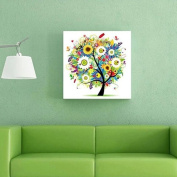 Vibola 5D Embroidery tree Paintings Rhinestone Pasted diy Diamond painting Cross Stitch