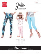 Jalie Eleonore Stretch Pull On Jeans Long or Cropped Sewing Pattern 3461