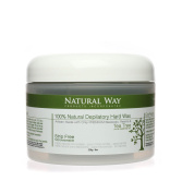 TEA TREE OIL Natural Way 240ml/226g Depilatory Hard Wax