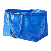 Ikea - 5x Frakta Blue Large Bags - Ideal For Shopping, Laundry & Storage