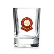 Heart of Midlothian football club shot glass