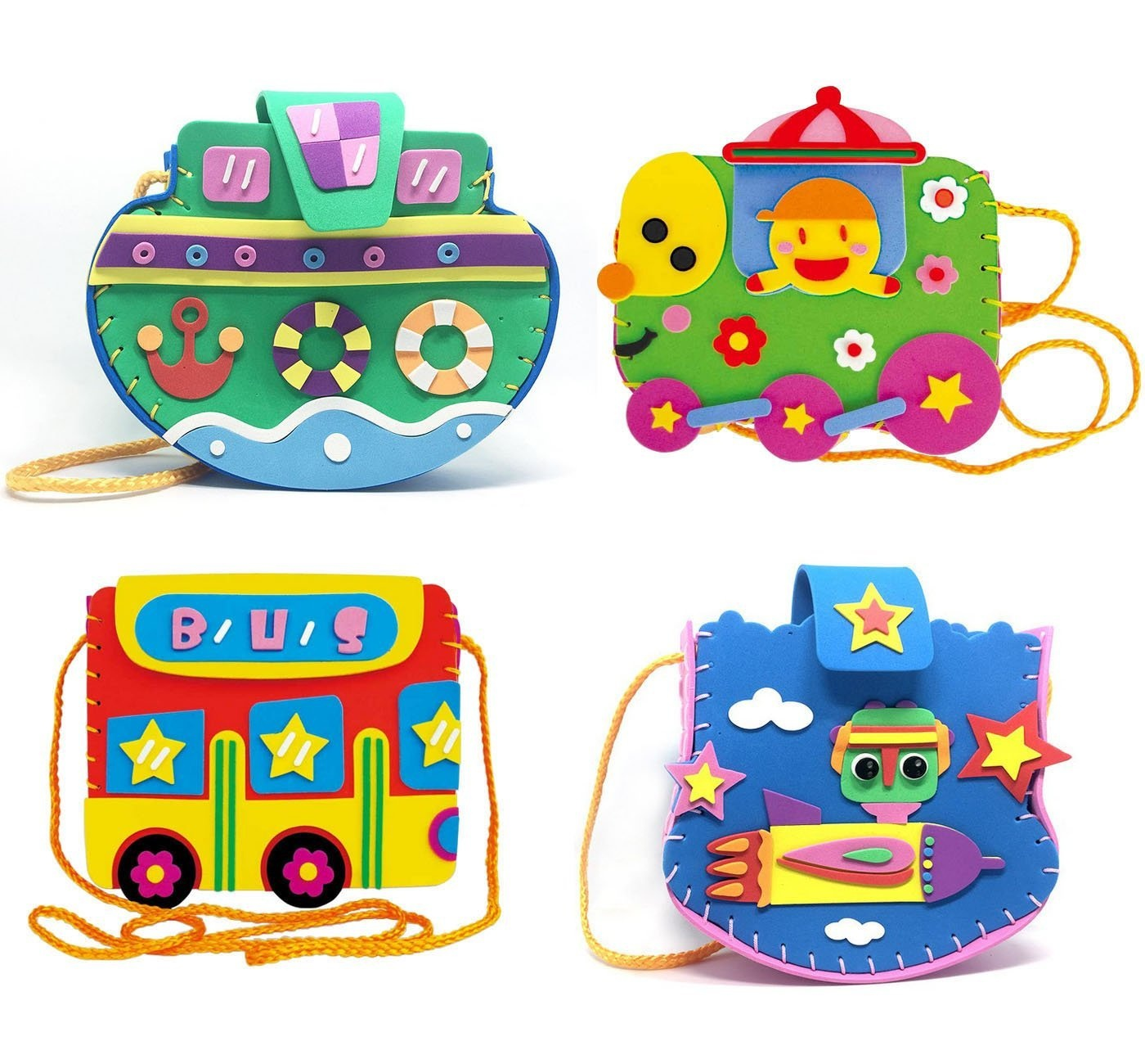 Fyz Brothers 4 Pcs Sewing Kit For Kids Sewing Craft Kit Kids