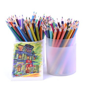 Professional 120 Coloured Pencils set Professionals Artist Painting Oil Colour Pencil For Drawing Sketch art Supplies
