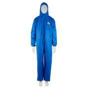 3M Protective Coverall, Type 5/6, 4515-B-L - Large, Blue