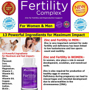 #1 Female Fertility Support and Male Fertility Support supplement★ The most complete and advanced fertility support for Women and Men★ Designed to stimulate Fertility in Women and Men★ Supports & maintains Reproductive Health★ Premium blend of Zinc, Fl ..