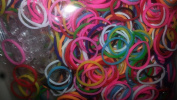 Mix Colours Loom Bands 600+60cm S- Clips-bracelet Bands Fits Rainbow Loom