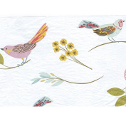 Tissue Paper for Gift Wrapping with Design (Elegant Bird Illustrations), 24 Large Sheets