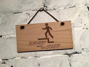 """""""Please mind the step"""" shabby chic sign. Suitable for hotels/bars/cafes/pubs/offices or home."""