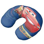 Disney Cars 3 Speed Lightning Mcqueen Blue Neck Pillow