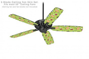 Beach Party Umbrellas Sage Green - Ceiling Fan Skin Kit fits most 130cm fans