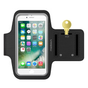 Maxboost Armband [Original] For Small Cellphone - iPhone 7/6/6S, iPhone se 5s 5 5c, Galaxy S8 S7 S6, 8 HTC One A9, LG Sony, Nokia w/ case Exercise Running Pouch Key Holder Hiking,Biking,Walking