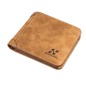 Tootu Men Leather ID credit Card holder Clutch Coin Purse Wallet