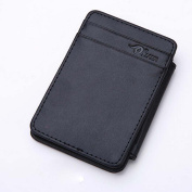 Tootu Man Mini Magic Bifold Leather Wallet Card Holder Wallet Purse