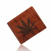 Tootu Men Leather Card Cash Receipt Holder Organiser Bifold Wallet Purse