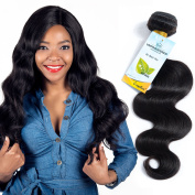 Brazilian Body Wave 1 Bundle Virgin Hair Tangle Free 7A 100% Unprocessed Human Hair Weaves 8-80cm 100g Natural Colour Hair Extensions