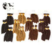 Brazilian Bouncy Curly Aunty Funmi Hair 6Bundles Synthetic Hair Extensions Soft and Smooth
