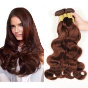 Brazilian Virgin Remy Body Wave Human Hair 3 Bundles, Cecillia 9A Weaves 100% Unprocessed Extensions Hair