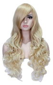 Deifor 70cm Long Big Curly Wave Wig Heat Resistant Synthetic Hair Cosplay Wigs