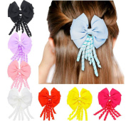 Lucky staryuan 8Pack Baby Girls Toddler Hair Bow Clips