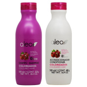 "Alea Coloreados Coloured Hair Pomegranate Extract Shampoo + Conditioner ""Set"""