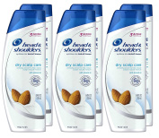 Head and Shoulders Dry Scalp Care with Almond Oil Anti-Dandruff Shampoo 250ml (Pack of 6)