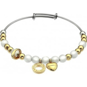 Emozioni by Hot Diamonds Faux Mother of Pearl Bangle