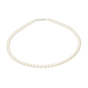 Mytoptrendz® Ivory Cream Small Czech Pearl Bracelet bridesmaid bracelets, Simple Classic Pearl Bracelet, Fashion Jewellery