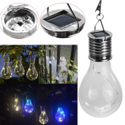 Creazy Waterproof Solar Rotatable Outdoor Garden Camping Hanging LED Light Lamp Bulb