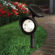 Solar Power Outdoor Garden 2 Pack Spot Lights Fairy Lights Weather Proof Party White