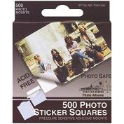 Pioneer Photo Albums PSM500 Photo Album Sticker Squares 500 Count