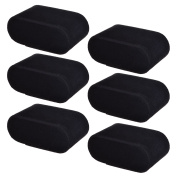 BCP 6 pieces Velvet Small Bracelet Watch Pillow for Watch Box Jewellery Display Storage Case