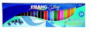 Prang 001338 Pastello Non-Toxic Square Coloured Paper Chalk44; Pack 24
