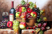 LIPHISFUN Fruit Still Life Home Decorative 5D DIY Diamond Embroidery Painting Needlework Square Drill Resin Square Diamonds Unfinished Home Decor