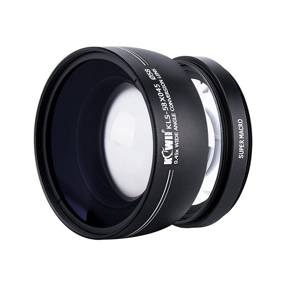 55mm Red Color Filter for Contrast or Creative Effect