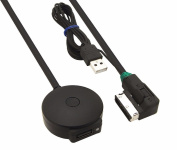 EX1 Bluetooth V4.0 CSR Chipset Adapter Cable USB Port Charger MP3 Music for Audi Music Interface AMI MMI 2G/3G/3G+