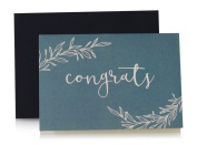 Jot & Mark Congratulations Cards (10 cards and envelopes per set) | Perfect for Graduations, Weddings, Engagements, and More