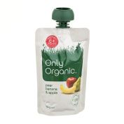 Only Organic Pear Banana & Apple