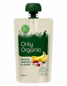 Only Organic Banana Raspberry & Vanilla
