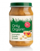 Only Organic Pumpkin Potato & Beef