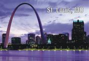 St. Louis, Missouri, Gateway Arch, Souvenir Magnet 2 x 3 Fridge Photo Magnet